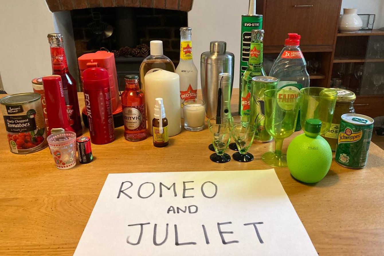 Complete Works: Table Top Shakespeare: At Home - Romeo and Juliet